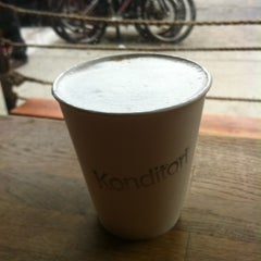 Photo taken at Konditori by Deepa on 4/13/2013