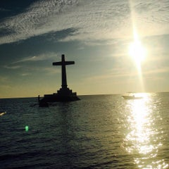 Photo taken at Sunken Cemetery Cross by Janine F. on 7/24/2015