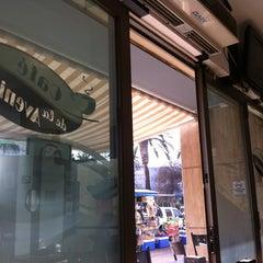 Photo taken at Cafe De La Avenida by Fer D. on 7/3/2013