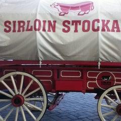 Photo taken at Sirloin Stockade by Jorge H. on 3/12/2013