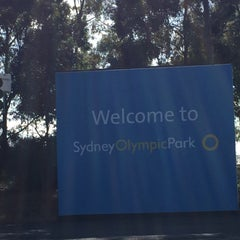 Photo taken at Sydney Olympic Park Aquatic Centre by Merel 👸 on 7/18/2015