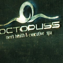 Photo taken at Octopus Men's Health and Spa by Jefriando C. on 2/16/2016