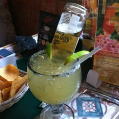Photo taken at 3 Margaritas Family Mexican Restaurant by Kristina on 7/19/2013