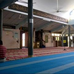 Photo taken at Masjid Taiping by faiz h. on 4/28/2013