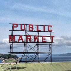 Photo taken at Pike Place Market by Daniel Eran D. on 5/14/2013