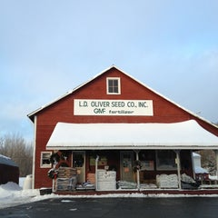 Photo taken at L.D. Oliver Seed Co. by Harjit on 12/28/2012