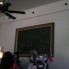 Photo taken at Belli Belli Salon & Boutique by Christiane .. on 10/13/2012