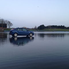 Photo taken at Holme Pierrepont by George C. on 1/31/2013