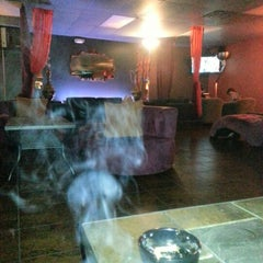 Photo taken at Blaze Hookah Lounge by Alec F. on 9/14/2012