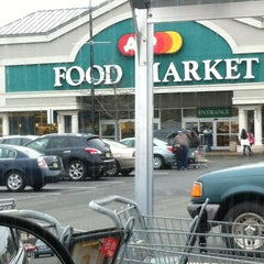 Photo taken at A&P Supermarket by DJ LIL JOE on 1/12/2013
