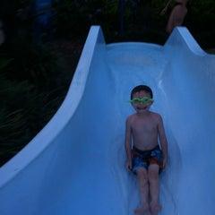 Photo taken at Splash Lagoon (North Village at Orange Lake Resort) by Jason F. on 5/26/2013