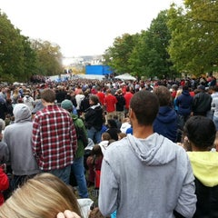 Photo taken at Bascom Hill by John L. on 10/4/2012