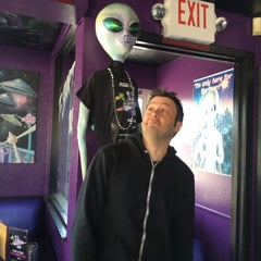 Photo taken at Red Planet Diner by The Bloafer on 4/21/2015