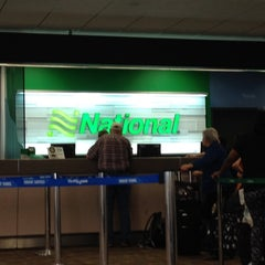 Photo taken at National Car Rental by Melissa Q. on 4/16/2014
