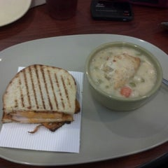 Photo taken at Panera Bread by Andrew S. on 10/23/2012