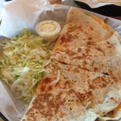 Photo taken at Global Quesadilla by Rory F. on 10/25/2012
