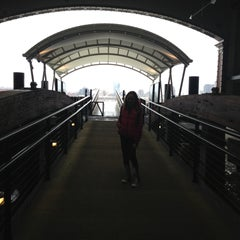 Photo taken at NY Waterway Ferry Terminal Hoboken South by Mar D. on 4/12/2013