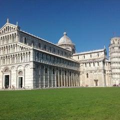 Photo taken at Piazza del Duomo (Piazza dei Miracoli) by Anastasia F. on 7/2/2013