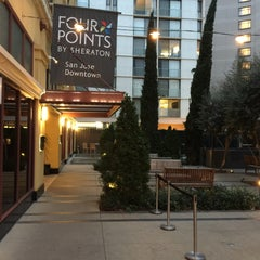 Photo taken at Four Points by Sheraton San Jose Downtown by Jacob E. on 1/30/2015