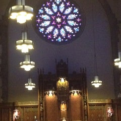 Photo taken at St. Francis Of Assisi - Delaware Ave by Meg S. on 8/12/2013