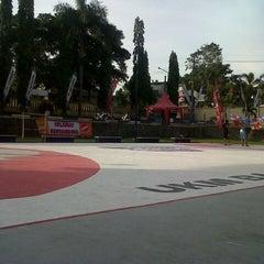 Photo taken at Lapangan Basket Unmuh Jember by Rivaldi i. on 5/9/2013
