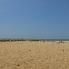 Photo taken at Playa de Boca de Uchire by Ygor L. on 7/6/2013