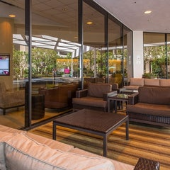 Photo taken at Crowne Plaza Los Angeles Airport by Milestone Internet Marketing on 2/24/2014