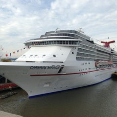 Photo taken at Carnival Cruise Lines Pier by Andrew M. on 1/17/2013