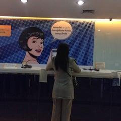 Photo taken at Bank Mandiri by Thomas L. on 4/21/2014