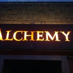 Photo taken at The Alchemy Cafe by Joe Z. on 1/3/2013