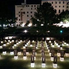 Photo taken at Oklahoma City National Memorial & Museum by Taras B. on 10/7/2013