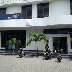 Photo taken at Bank Mandiri by Sherly K. on 12/22/2012