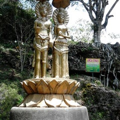 Photo taken at Goa Seplawan by Latifa K. on 9/16/2012