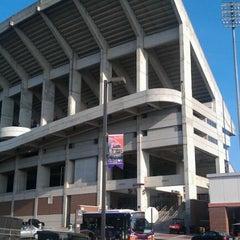 Photo taken at Memorial Stadium by Thomas C. on 9/27/2012