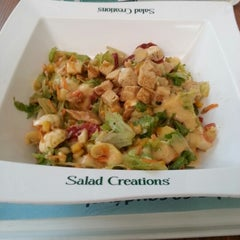 Photo taken at Salad Creations by Diego V. on 11/15/2012
