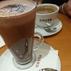 Photo taken at Costa Coffee - Hanwei Plaza by Angela on 1/7/2014