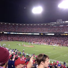 Photo taken at Candlestick Park by Ryan on 10/19/2012