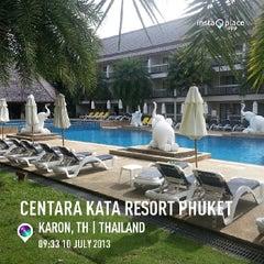 Photo taken at Centara Kata Resort Phuket by Thiti N. on 7/10/2013