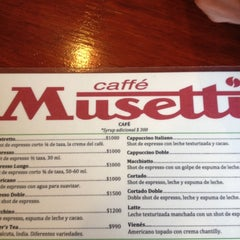 Photo taken at Caffé Musetti by Fabiana V. on 11/16/2012