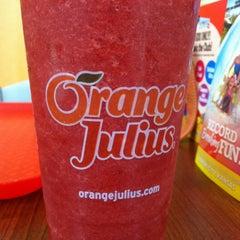Photo taken at Orange Julius by Blythe W. on 6/21/2013