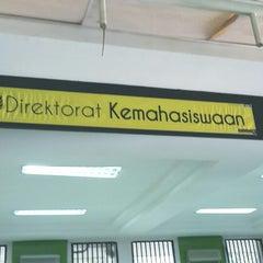 Photo taken at Rektorat Universitas Indonesia by Prismara P. on 12/20/2013