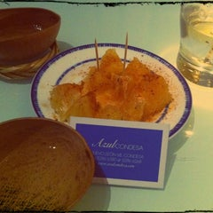 Photo taken at Azul Condesa by Alice R. on 10/18/2012