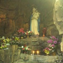 Photo taken at Gereja Hati Yesus yang Maha Kudus by Agoezzt on 6/2/2015