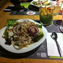Photo taken at Salad & Co by Dasha S. on 2/2/2014