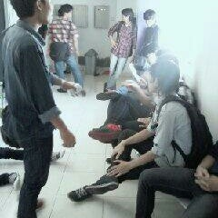 Photo taken at Gedung Unit 5 STMIK AMIKOM Yogyakarta by ddkusuma on 11/30/2012