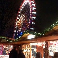 Photo taken at Weihnachtsmarkt am Roten Rathaus by Olga ♡. on 12/15/2012