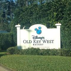 Photo taken at Disney's Old Key West Resort by Zach on 3/6/2013