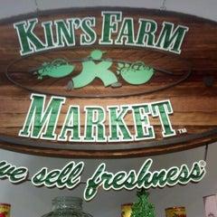 Photo taken at Kins Market by Joel R. on 12/22/2012