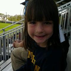 Photo taken at U-M Soccer Complex by Tamara G. on 9/16/2012