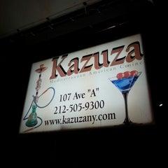 Photo taken at Kazuza by Greg B. on 3/31/2013